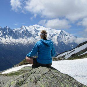 randonnée et méditation pleine présence
