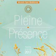 Programme 2017 de l'Institut Pleine Présence