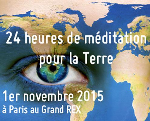 24 heures de méditation pour la terre
