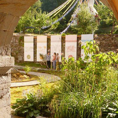 Jardin zen du Domaine d'Avalon Institut Pleine Présence