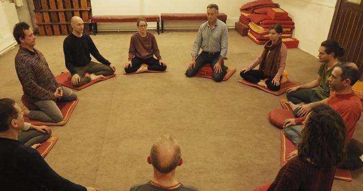 Cercles de pleine présence méditation Lyon
