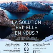 Conférence-débat Denys Rinpoché Lyon